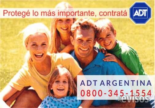 Adt - alarmas monitoreadas en buenos aires 0800-345-1554  0$ instalación