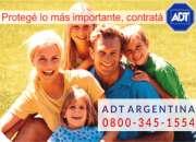 ADT Alarmas en Los Polvorines Tel (Fijo) (011)-52520553  0$ Instalación