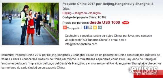 """Viajes china con hangzhou """"el paraiso de la tierra"""""""