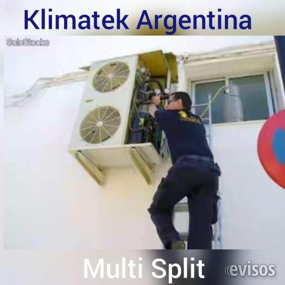 Instalacion aire acondicionado multi split