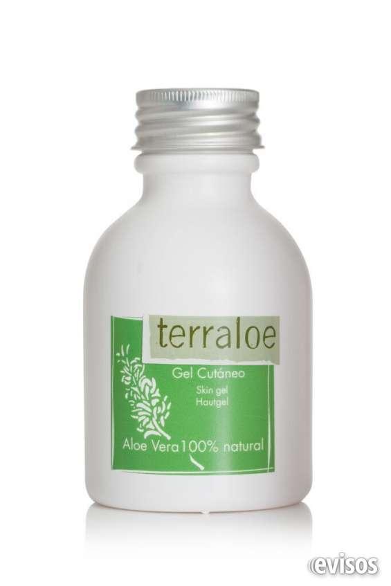 Gel puro de aloe vera 100% naturtal terraloe - 300 ml.