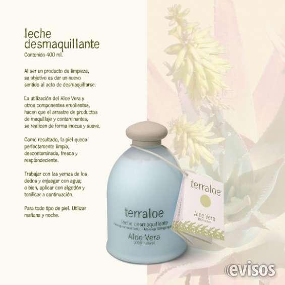 Leche desmaquillante terraloe - 400 ml.