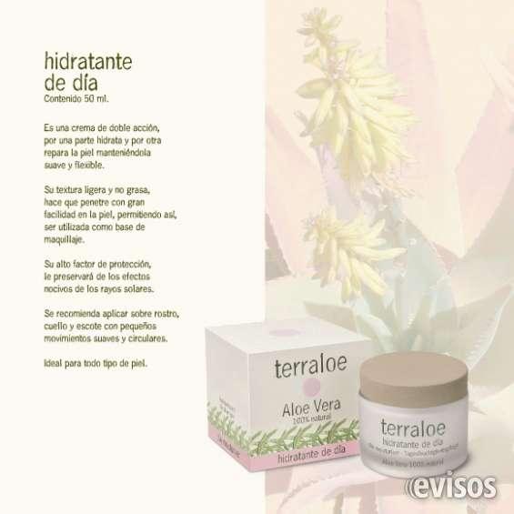 Hidratante de día terraloe - 50 ml.