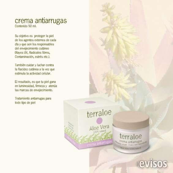 Crema antiarrugas terraloe - 50 ml.