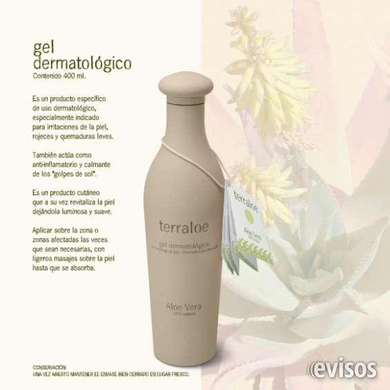 Gel puro de aloe vera 100% natural terraloe - 400 ml.
