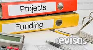Financiación de sus proyectos