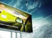 Carteles publicitarios en ruta en San Vicente