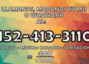 Karaoke sonido y micrófonos whatsapp 1562827432