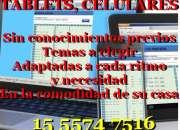 CLASES DE COMPUTACION, CELULARES Y TABLETS A DOMICILIO