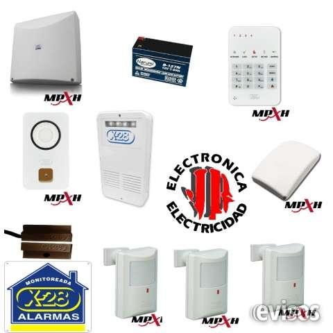Jr eletricidad electronica, alarmas, programacion y monitoreo de alarmas cordoba