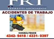 Abogado accidente de trabajo superintendencia de riesgos de trabajo Tribunales 4342 9418