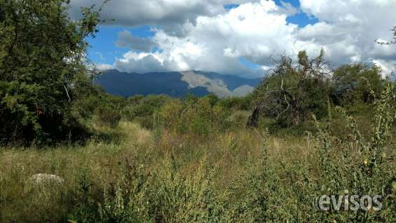 Vista del cerro champaquí desde dentro de la propiedad