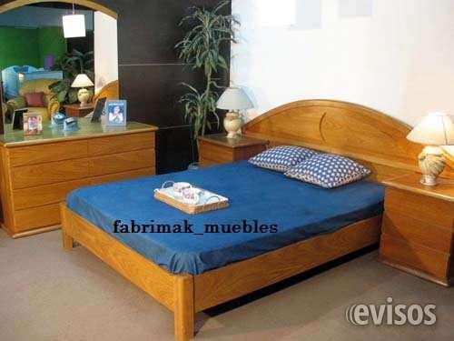 Dormitorio en roble a precio imperdible