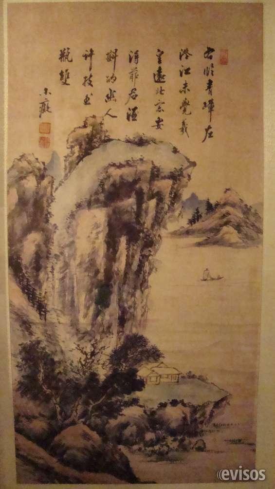 Vendo pintura china antigua