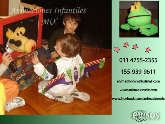 Titeres animaciones infantiles mix 47552355