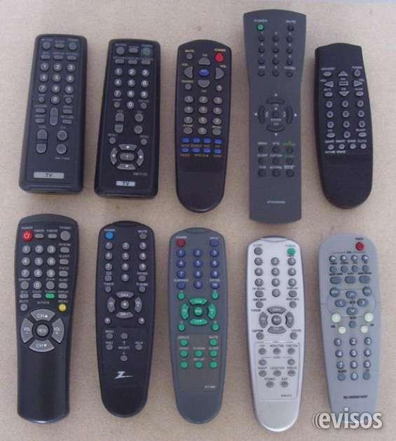 Servicio tecnico - reparacion de control remoto de tv y video en 30 min - palermo $200