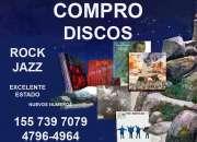 Compro - discos de vinilo rock jazz - blues en excelente estado