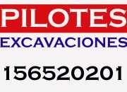 Pilotes movimientosde suelo, excavaciones y mas!