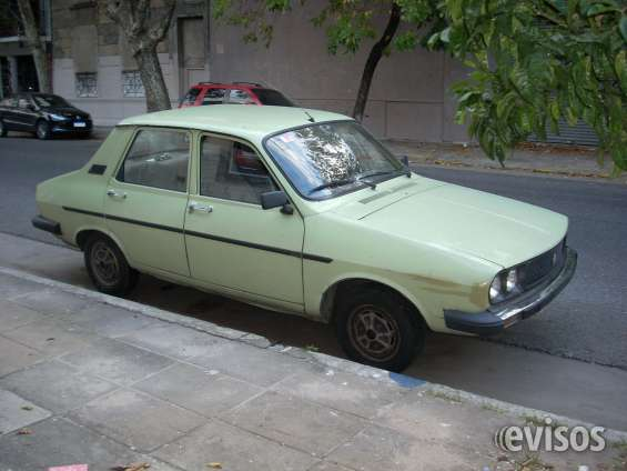 Renault buen estado, bien cuidado y bajo kilometraje