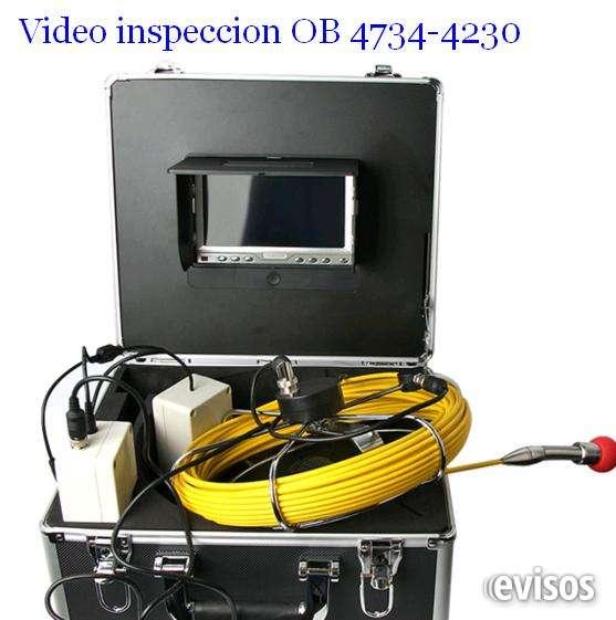 Servicio de video inspeccion cloacales y pluviales 4734-4230 o 1558100380