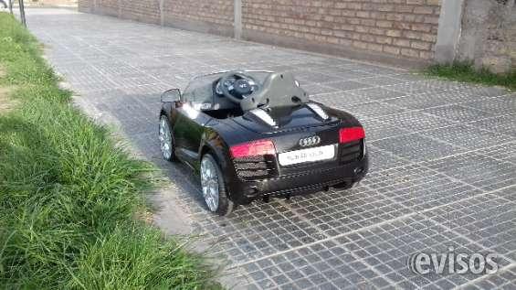 Audi r8 spider, auto electrico para niños.