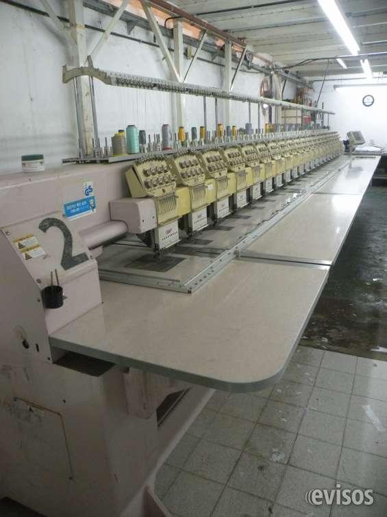Maquina de bordar 20 cabezas swf