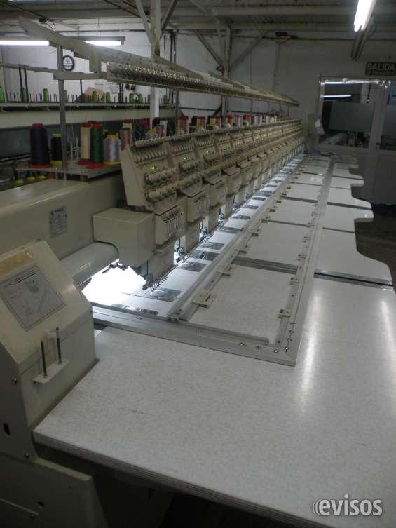 Maquina de bordar tipical 18 cabezas