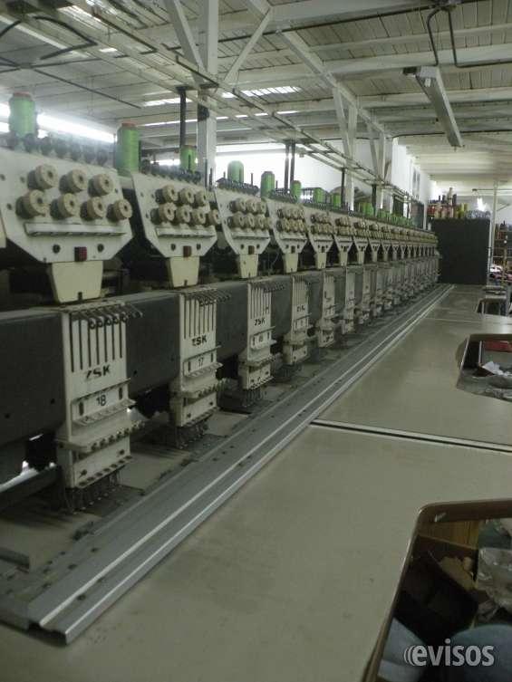 Maquina de bordar zsk 18 cabezas
