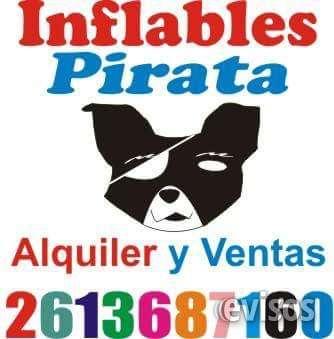 Inflables pirata mendoza alquiler