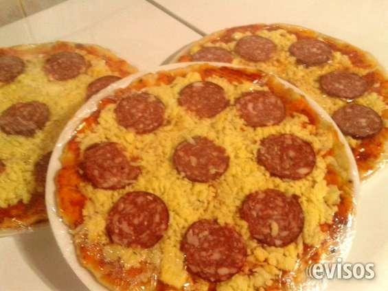 Pizzas a pedido con masa gourmet