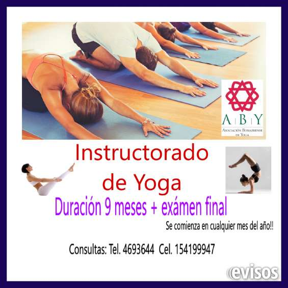 Instructorado y profesorado de yoga integral
