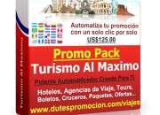 Software de promoción para agencia de viaje en el…