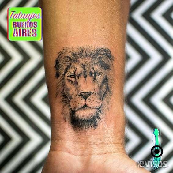 Tatuaje león realizado por @jose luis segura martinez #tattoo #tatuajes #animales #pequeño #lineas #delicado #tatuajesbuenosaires