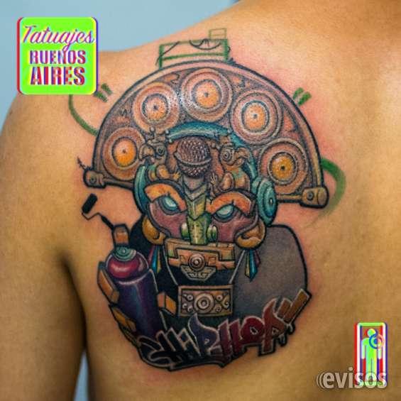 Tattoo hip hop realizado por @jose luis segura martinez #tattoo #tatuajes #musica #rap #colombia #buenosaires #grafiti #music #espalda #hombre #fullcolor #ink #tatuajesbuenosaires