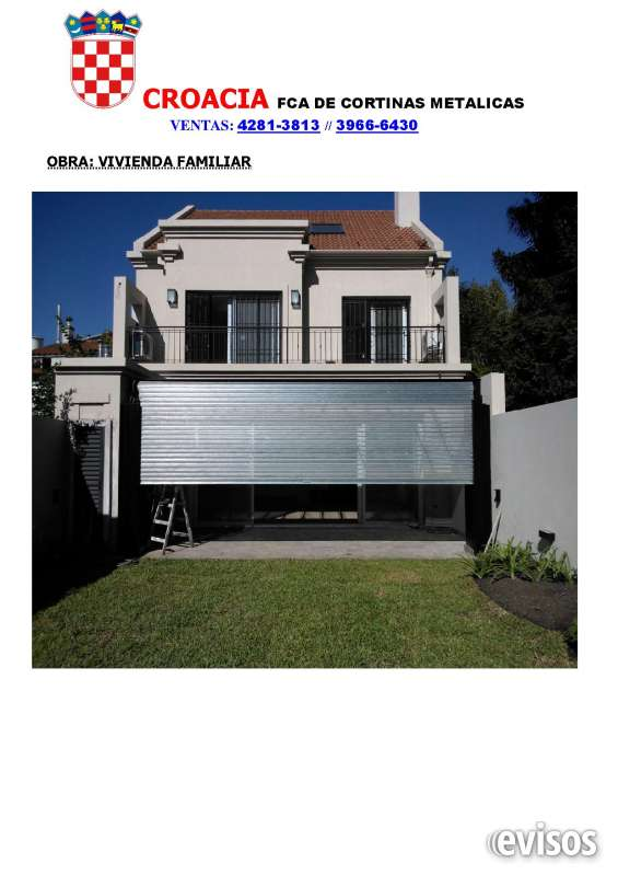 Cortinas metalicas seguras para su vivienda