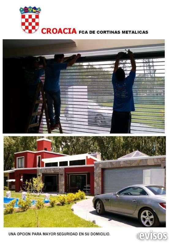 Fabrica de cortinas metálicas acorazadas, planas, lisas