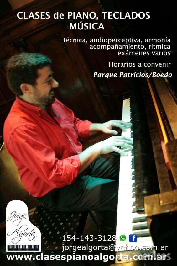 Jorge algorta - clases de piano