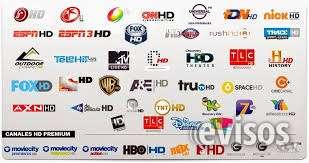 Cine, deportes, infantiles, premium, adultos