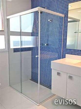 Fabrica de mamparas y box baño vidrio templado blindex 8 mm