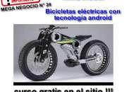 vendo  bicicletas electronicas con tegnologia androi