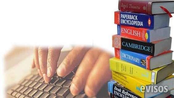 Traducciones inglés español y español inglés