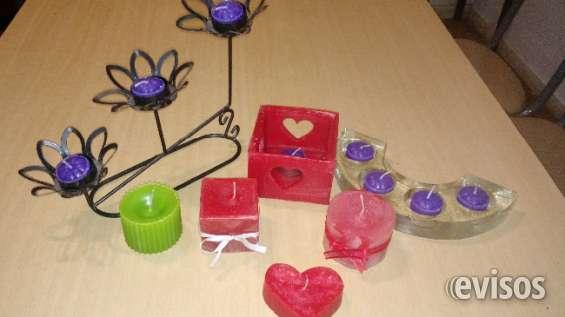 Velas artesanales mis amores