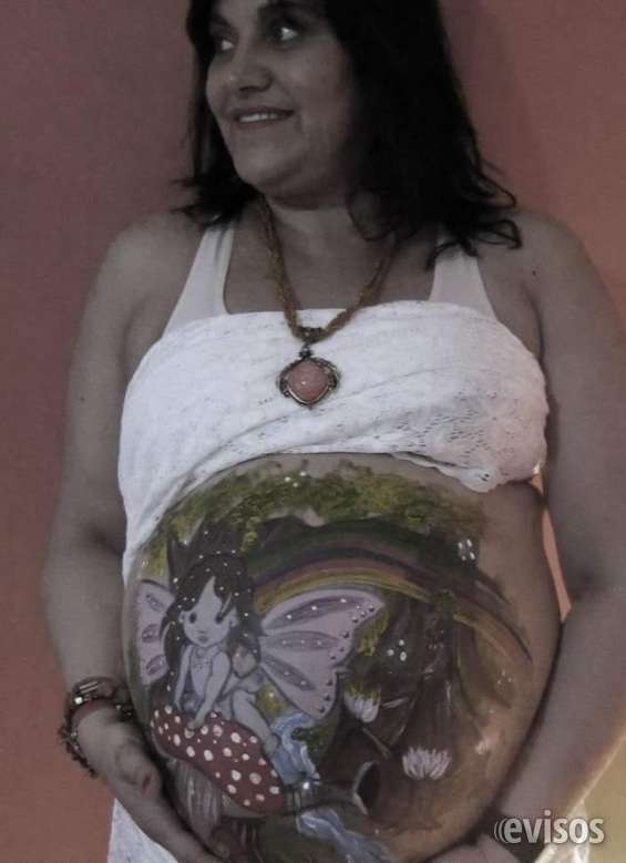Fotos de Panzas pintadas de embarazadas 7