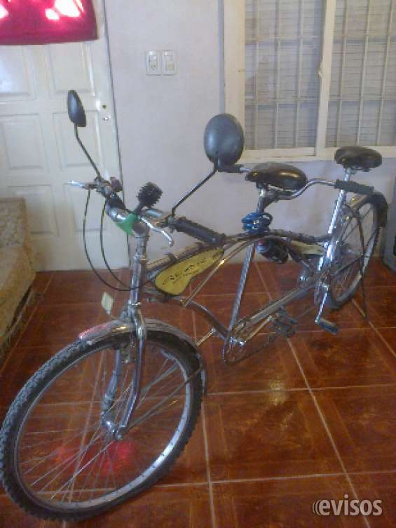 Bicicleta doble vendo ya
