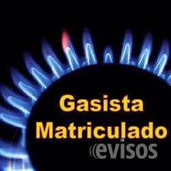 Gasista matriculado 4951-4553 ó (15)4065-6926
