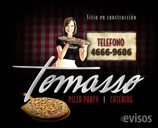 Tomasso pizza party & catering para eventos