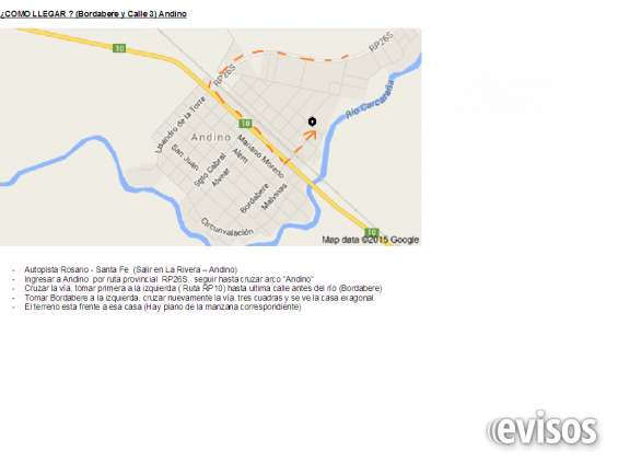 Excepcional terreno en andino, rio, arbolado, 390 m2