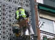 Montajes de  conductos galvanidos en alturas con silletas en ,, villa gesel,,