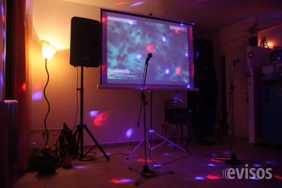 Nuestro combo karaoke