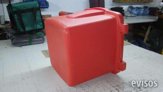 Caja plástica para delivery